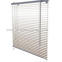 Aluminium venetian blind in home and garden