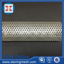 Tubo de filtro perfurado de aço inoxidável