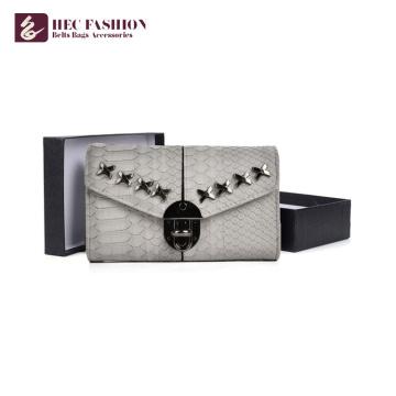 HEC China Fornecedor Design de Luxo Carteiras de Viagem Embreagem Bolsa Mulheres