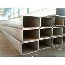 sección hueca ST37 negro tubo de acero cuadrado /tube