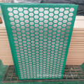 ss316 material Swaco Mongoose Steel shaker screen