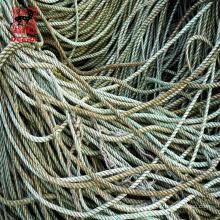 Cuerda de remolque marina de los PP del filamento del equipo marino 6 para el barco de la nave
