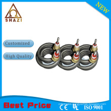 Coil heaters and heating element