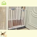 Porta de segurança durável do animal de estimação da Dobro-porta do projeto simples
