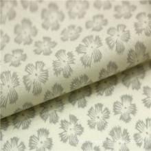 snowflake printed sea island cotton voile fabric