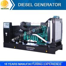 Fabricantes chineses de baixo preço gerador diesel volvo aberto e silencioso à venda