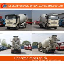 FAW Concrete Mixer Truck FAW Cement Mixer Truck