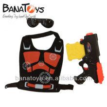 914010853 pistola de juguete de bala suave para niños con gafas y armadura