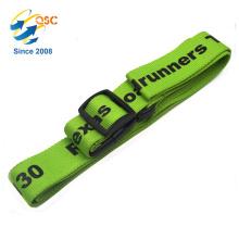 Travel nylon Luggage strap belt/plastic adjustable buckle