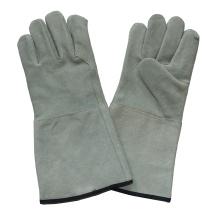 Ab Grade Cow Split Leather Hand Защитные промышленные перчатки для сварщиков