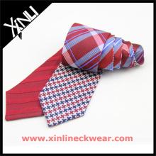 Regalos populares Corbatas de seda de los hombres Corbata de doble cara china