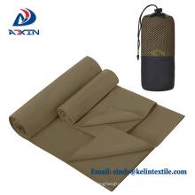 Suede microfiber towel for sport