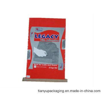 Sac en papier avec fond cousu pour l'emballage des aliments pour animaux ou de la poudre