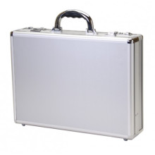 Aluminum Attache Case with Documents Pockets