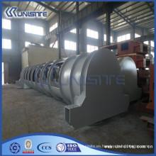 Caja de carga de acero resistente al desgaste personalizado para draga (USC4-013)