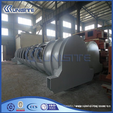 customized wear resistant steel loading box for dredger (USC4-013)