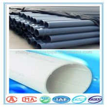 with blue strip PE water pipe competitive price