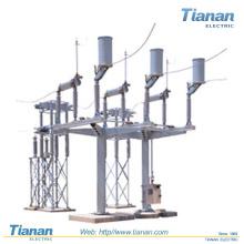 Interruptor de desconexão exterior / alta voltagem / para bancos de capacitores deturpados