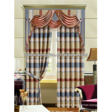 lined cafe curtain