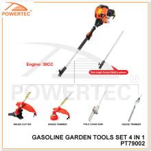 Powertec 4 in 1 Multifunction Garden Tool Set (PT79002)