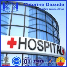 Produits chimiques en poudre de dioxyde de chlore utilisés dans l'hôpital pour le nettoyage