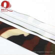 New style disruptive pattern nylon longchain zippers supplier