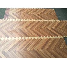 Brown Core HDF Material Laminat Kunst Parkett