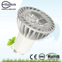 Luz Spot de LED de alta potência de 3W GU10