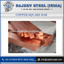 Barra cuadrada de cobre de alta calidad al mejor precio de mercado