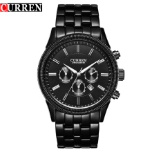 Business Men Quartz Watch Casual imperméable à l'eau