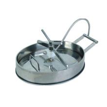 Эллиптический люк санитарной нержавеющей стали (IFEC-MH100011)