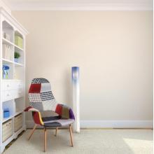 Moderne einfache Acryl-Zylinder-Fußboden-Licht (FL002-1)