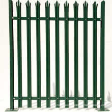 China Wholesale Colorful Powder Coated Metal Steel Palisade Fence
