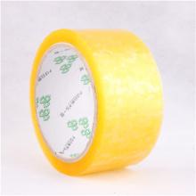 Премиальная качественная желтая лента bopp