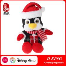 Christmas Penguin Decorations Regalos de los animales rellenos