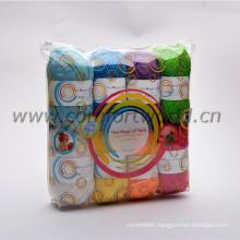 Acrylic yarn new packing for Amazon