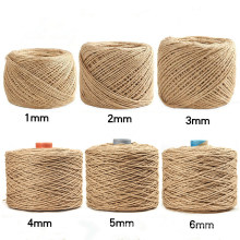 Wholesale Price 1mm-6mm Twisted Natural Hemp Rope