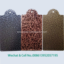 Antique Gold Hammer Powder Coating for Metal Door
