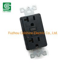 Duplex Receptacle Outlet 20A 125V Self Test GFCI Wall Socket