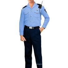 Polizei Hemd Polyester / Baumwolle Stoff 115GSM