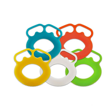 Finger Muscle Workout Silicone Power Exerciser Hand Grip Ring