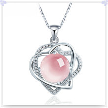 Crystal Necklace Silver Jewelry 925 Sterling Silver Jewelry (NC0084)
