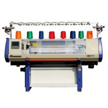 máquina para hacer punto plana de jacquard único sistema de calibre 44 pulgadas 3