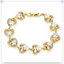 Fashion Accessories Copper Bracelet Crystal Jewelry (AB287)