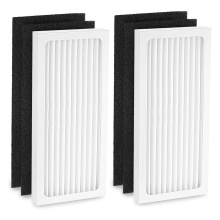 Activated carbon hepa air purifier filter replacement for Hamilton Beach 04383