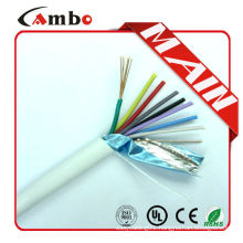 Shenzhen suppliers multi pairs stranded cca/ccs/bc/ofc wire 6 core shield guangzhou