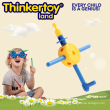 Jouet d'éducation de puzzle intéressant pour enfants Jouets en blocs en plastique
