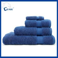Ensembles de serviettes de 100% en coton (QHA4490)