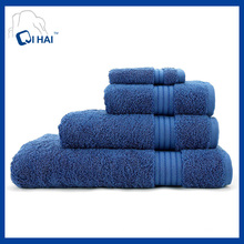 100% Cotton Yarn Face Towel Sets (QHA4490)