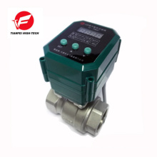 DC12V DC24V ss304 CTF-001 10nm electric 4-20mA valve